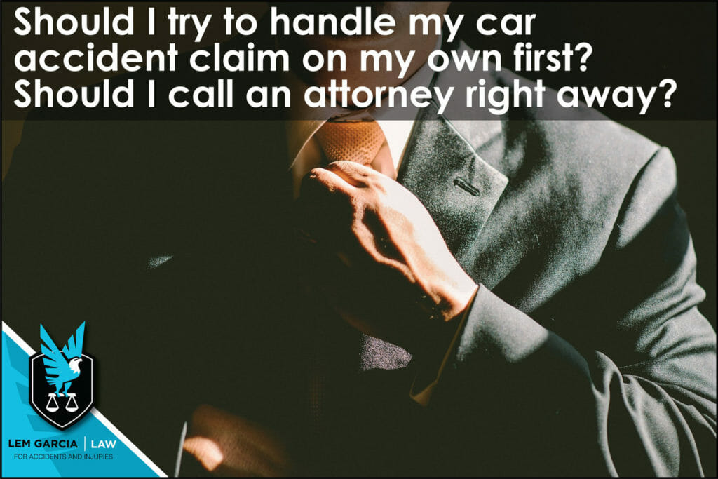 Should-I-try-to-handle-my-car-accident-claim-on-my-own-first